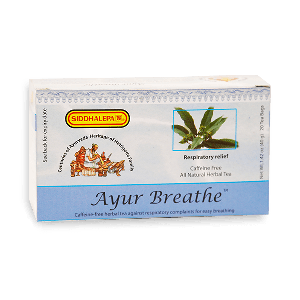 Ayur Breathe Tea (get 1 Handmade soap 30g free)