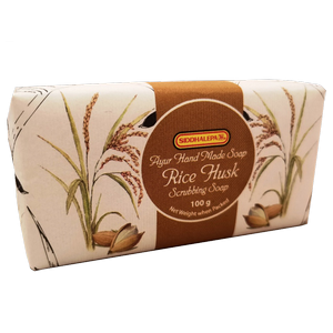Hand Made Soap - Rice Husk 100g