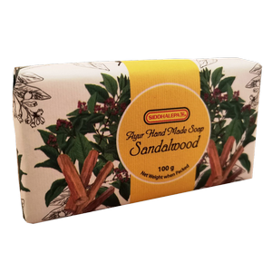 Hand Made Soap - Sandalwood 100g