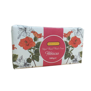 Hand Made Soap - Hibiscus 100g