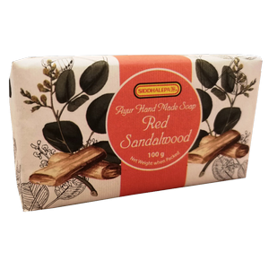 Hand Made Soap - Red Sandalwood - 100g