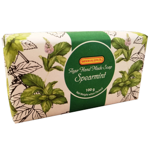 Hand Made Soap - Spearmint 100g